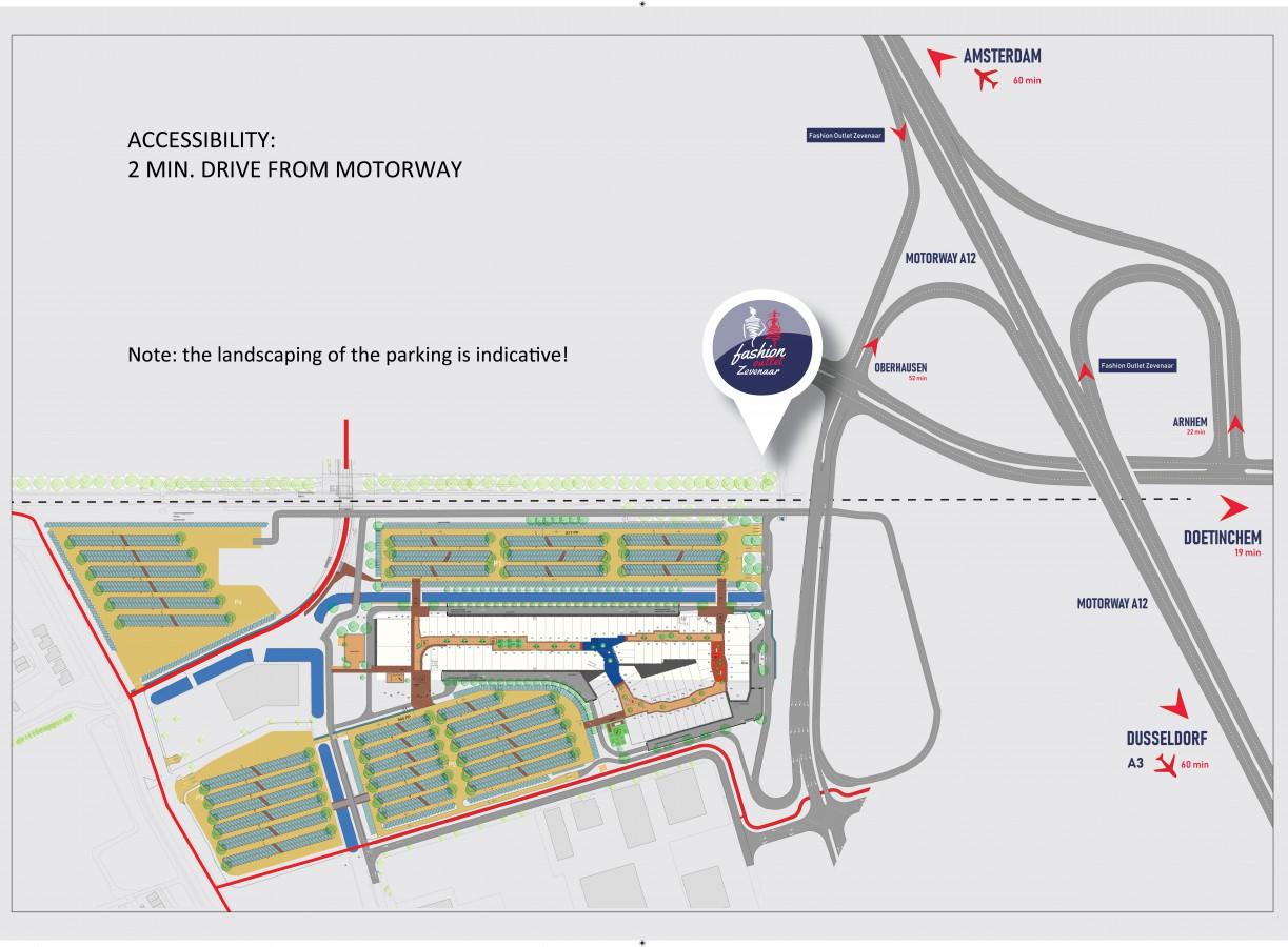 Extra rijstroken snelweg A12 in 2021 gereed